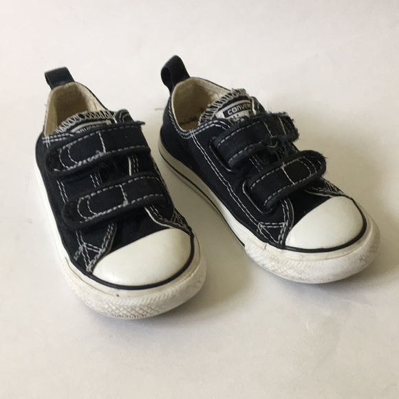 20856174f13d Converse Other - Toddler black Velcro converse